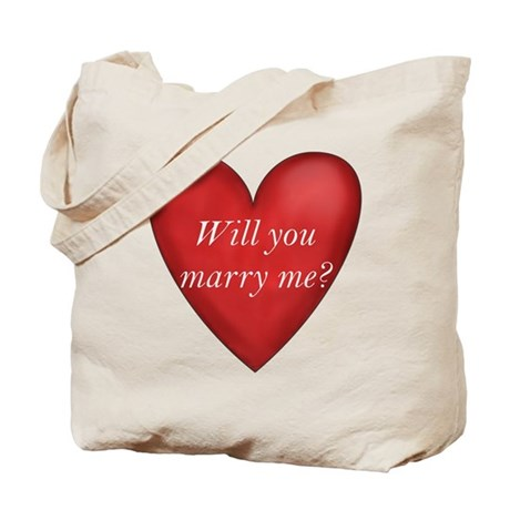 Marry Me Tote Bag