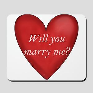 Marry Me Mousepad