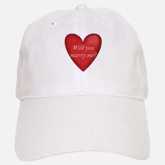 Marry Me Baseball Baseball Cap