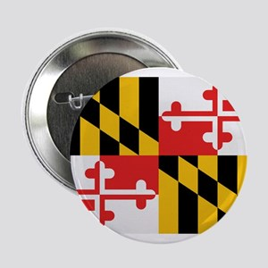 "Beloved Maryland Flag Modern 2.25"" Button"