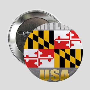 "Maryland USA Crest 2.25"" Button"