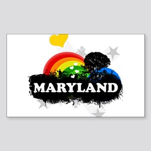 Sweet Fruity Maryland Rectangle Sticker