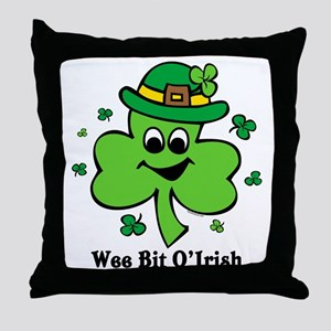 Wee Bit O' Irish Throw Pillow