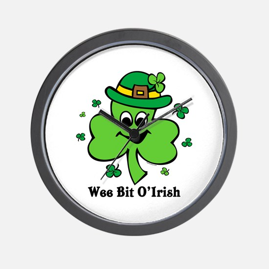 Wee Bit O' Irish Wall Clock