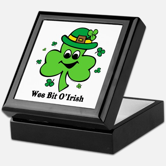 Wee Bit O' Irish Keepsake Box