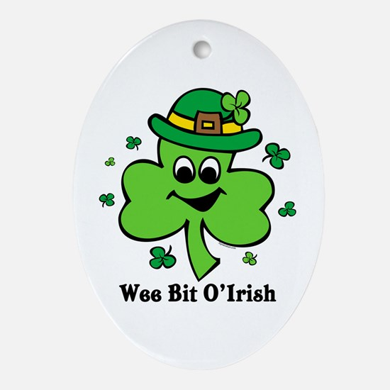 Wee Bit O' Irish Oval Ornament