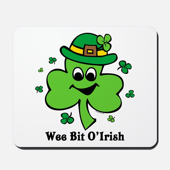 Wee Bit O' Irish Mousepad