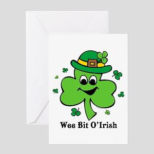 Wee Bit O' Irish Greeting Card