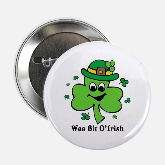 "Wee Bit O' Irish 2.25"" Button"
