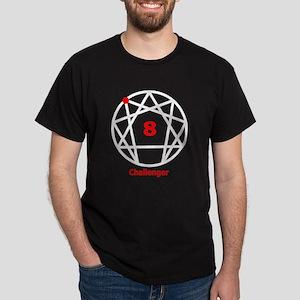 Enneagram 8 w text White T-Shirt