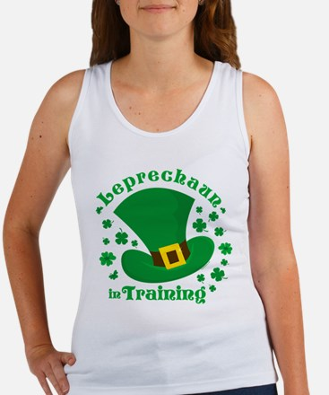 Leprechaun In Training Women's Tank Top