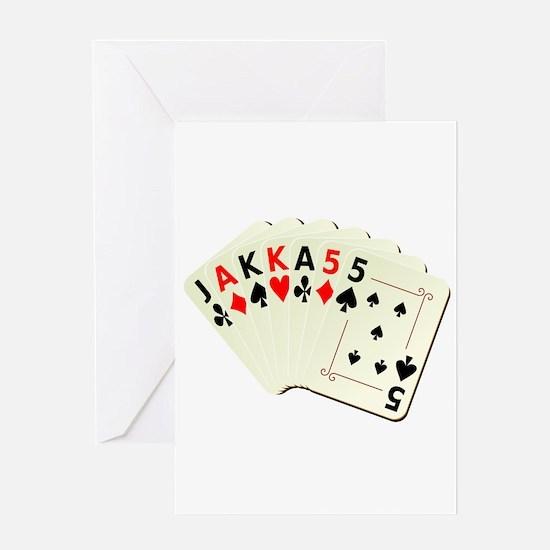 JAKKA55 Greeting Card