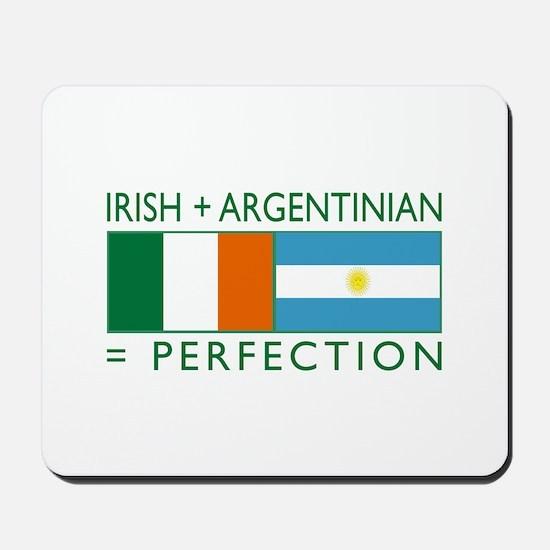 Irish Argentinian flag Mousepad