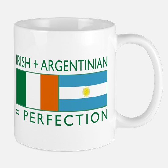Irish Argentinian flag Mug