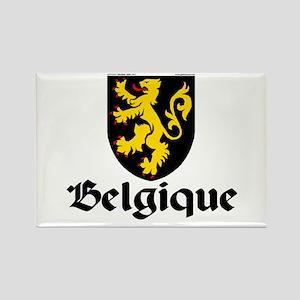 Belgium: Heraldic Rectangle Magnet