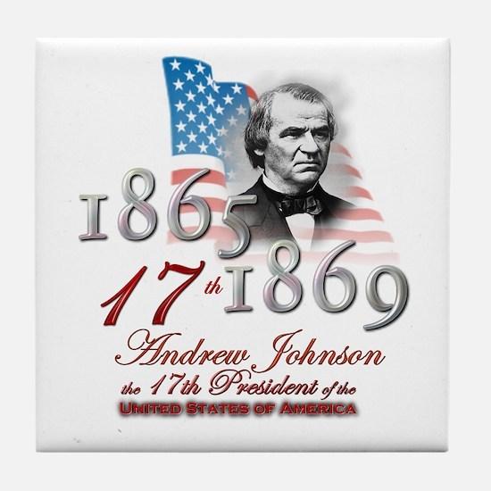 17th President - Tile Coaster