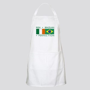 Irish Brazilian flag BBQ Apron