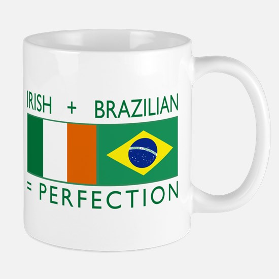 Irish Brazilian flag Mug