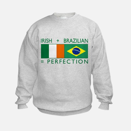 Irish Brazilian flag Sweatshirt