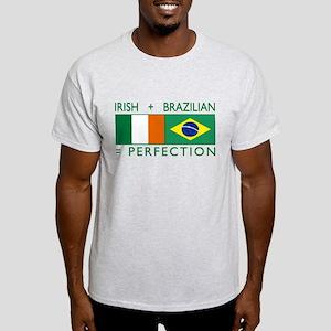 Irish Brazilian flag Light T-Shirt