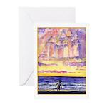 Thoreau's Sunset Greeting Cards (Pk of 10)