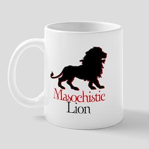 Masochistic Lion Mug