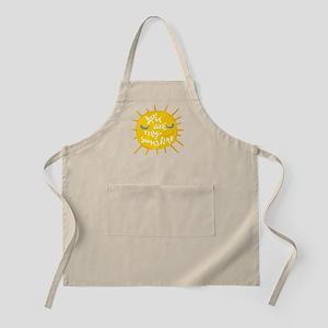 you are my sunshine Light Apron