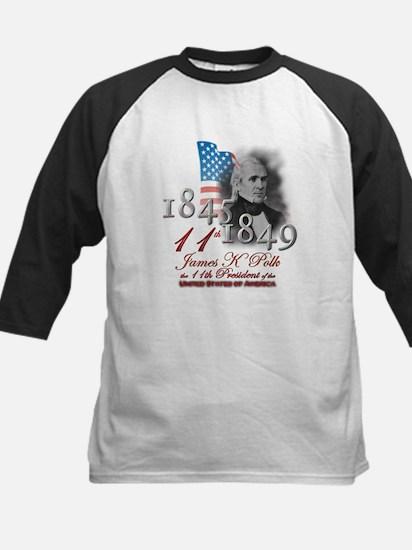 11th President - Kids Baseball Jersey