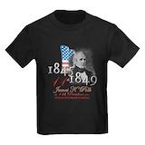 11th president Kids T-shirts (Dark)