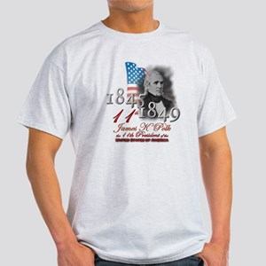 11th President - Light T-Shirt