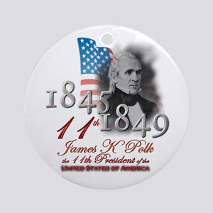 11th President - Ornament (Round)