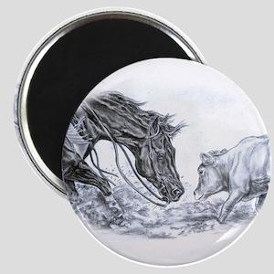 Cutting Horse Magnet