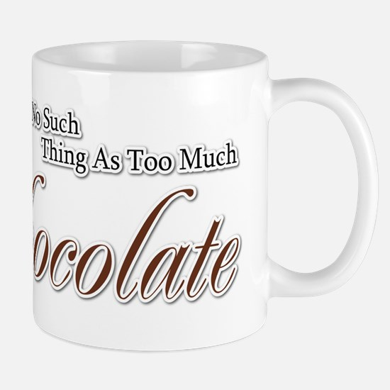 Chocolate Saying Mug