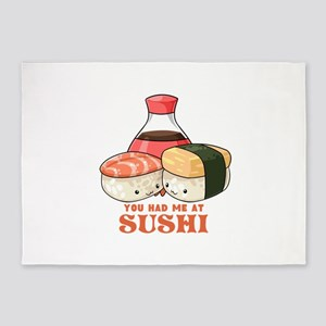 You Had Me At Sushi 5'x7'Area Rug