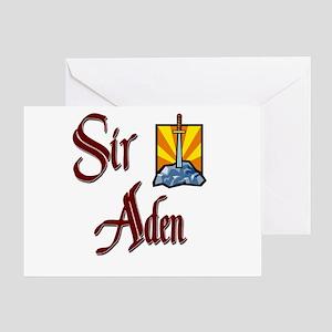 Sir Aden Greeting Card