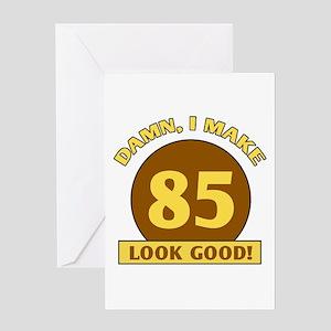 Funny 85th birthday greeting cards cafepress 85th birthday gag gift greeting card m4hsunfo