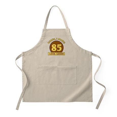 85th Birthday Gag Gift BBQ Apron