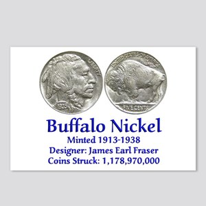 Buffalo Nickel Postcards (Package of 8)