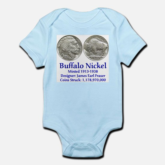 Buffalo Nickel Infant Bodysuit