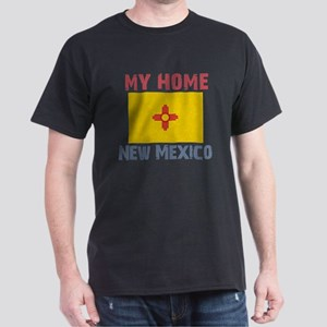 My Home New Mexico Vintage St Dark T-Shirt