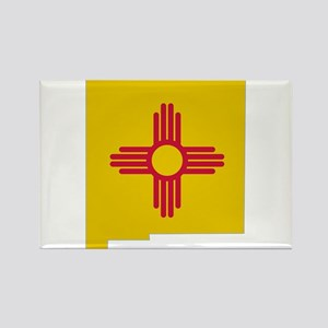 New Mexico Stripe Custom Desi Rectangle Magnet