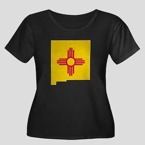 New Mexico Stripe Custom Desi Women's Plus Size Sc