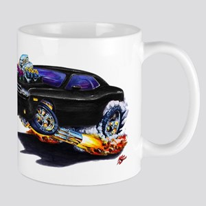 Challenger Black Car Mug