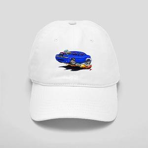 Challenger Blue Car Cap