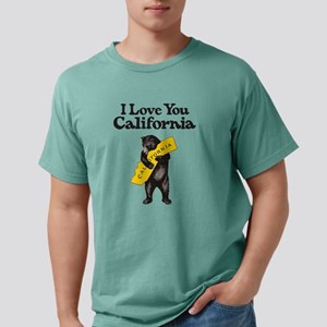 """I Love You California"" Vintage Illustrati T-Shirt"