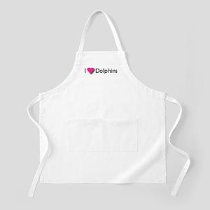 I LUV DOLPHINS! BBQ Apron