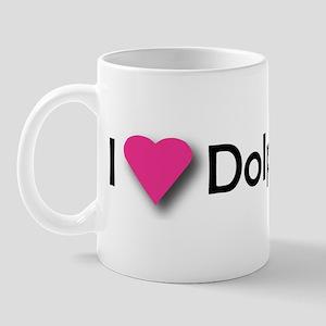 I LUV DOLPHINS! Mug