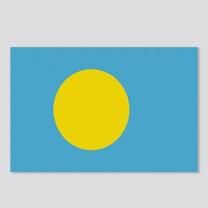 Beloved Palau Flag Modern Sty Postcards (Package o