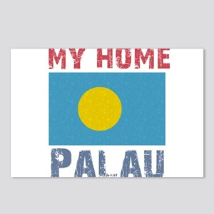 My Home Palau Vintage Style Postcards (Package of