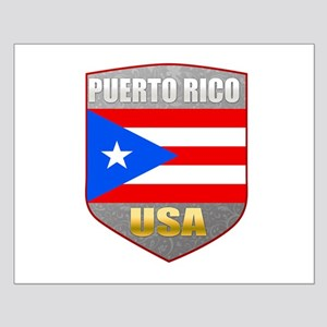 Puerto Rico USA Crest Small Poster